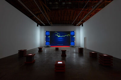 Meriem Bennani, 'Guided Tour of a Spill (CAPS Interlude)', 2021