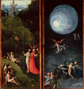 Hieronymus Bosch, 'Visions of the Hereafter', 1505-1515