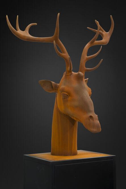 Mauro Corda, 'GIRAFFE-DEER HEAD', 2015