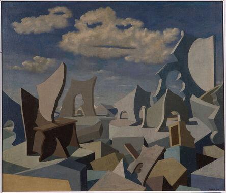 Pol Bury, 'Old Age Bronze', 1944