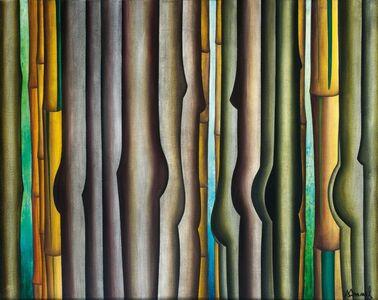Antonio Henrique Amaral, 'Bambuzal y Gente', 1996