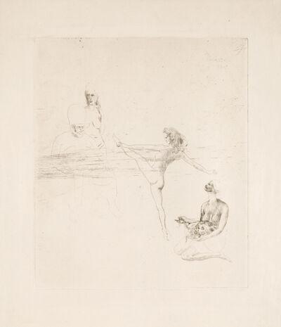 """Pablo Picasso, 'Salome from """"La Suite des Saltimbanques""""', 1905"""