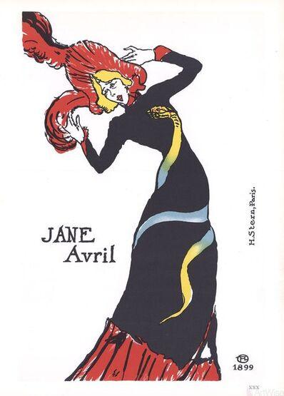 Henri de Toulouse-Lautrec, 'Jane Avril', 1966