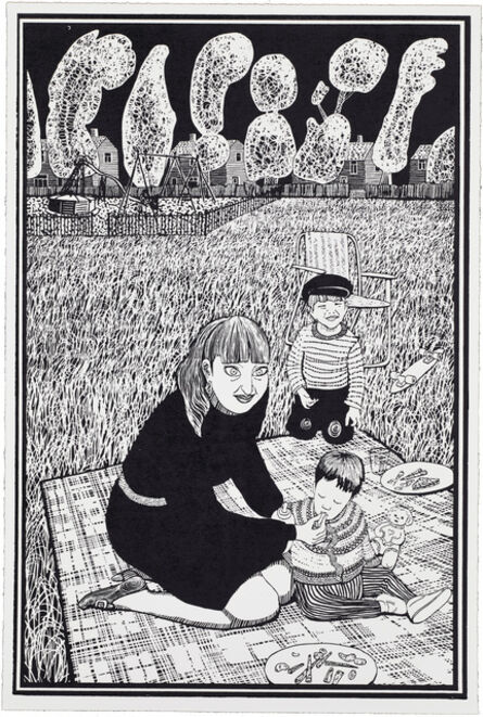Grayson Perry, '03, Six Snapshots of Julie (Black and White)', 2015