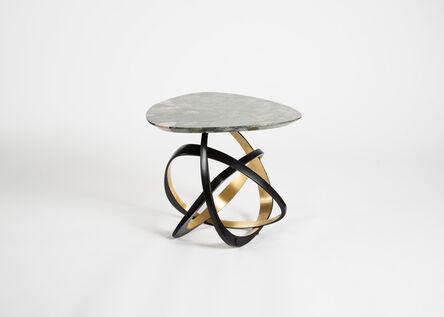 Hervé van der Straeten, 'Gueridon Volubile, No. 538 Contemporary Side Table', 2017