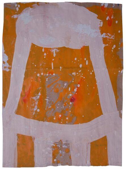 Gary Komarin, 'Small Stacked Cake (Cream on Orange)'
