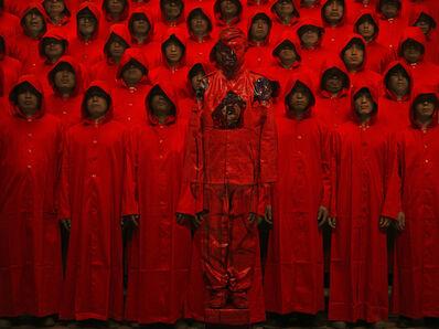 Liu Bolin, 'Red n°1', 2012