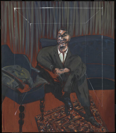 Francis Bacon, 'Seated Figure', 1961