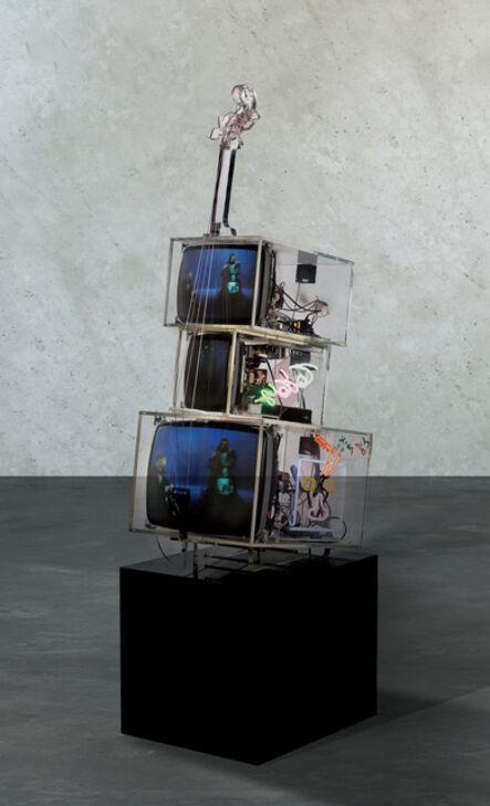 Nam June Paik, 'TV Cello', 1998