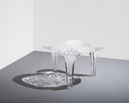Zaha Hadid, 'Stool 'Liquid Glacial'', 2015
