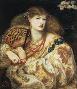 Dante Gabriel Rossetti, 'Monna Vanna', 1866