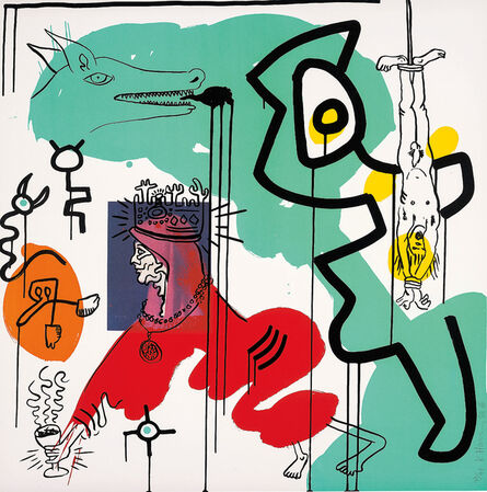 Keith Haring, 'Untitled 9, from Apocalypse', 1988