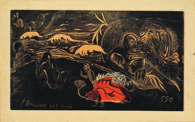 Paul Gauguin, 'L'Univers est créé', Paris, winter 1893, 1894