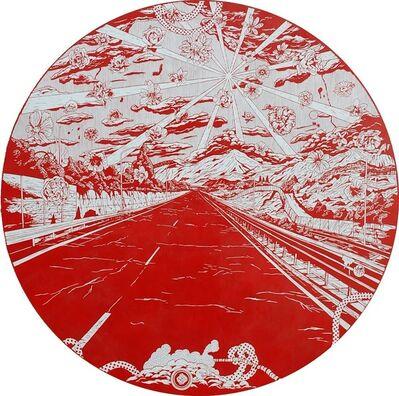 Kenichi Yokono, 'Falling Flowers Road', 2011