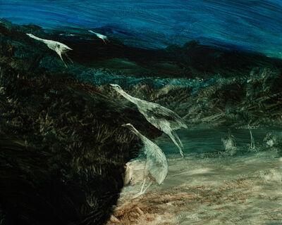 John Walsh, 'Flying Moa', 2017