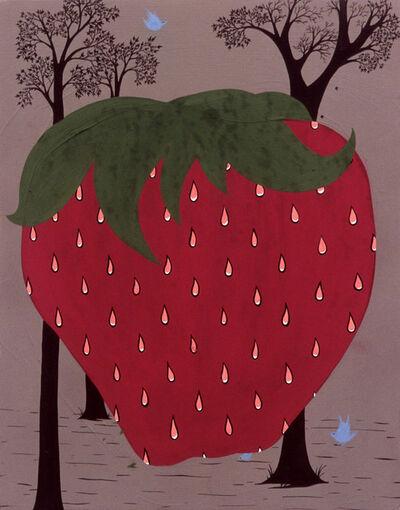 Clare E. Rojas, 'Strawberry', 2002