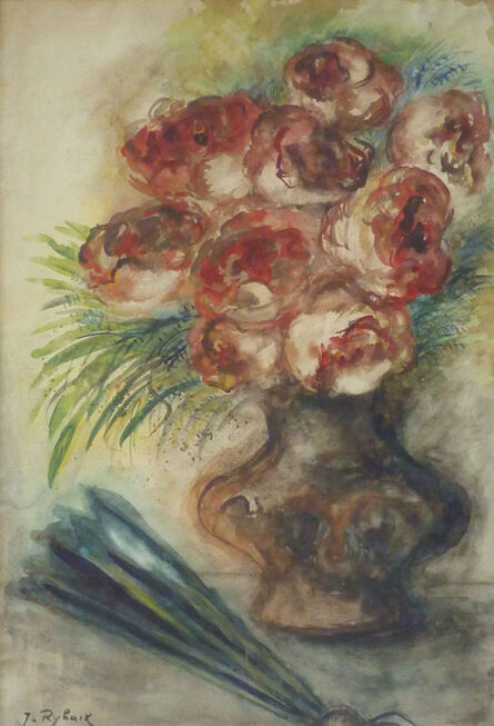 Issachar Ber Ryback, 'Vase of Flowers', unknown