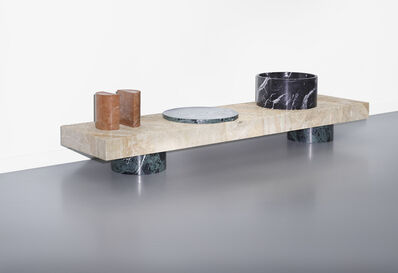 Tomás Alonso, 'Lines & Waves, table 1', 2014