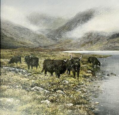 Garry Pereira, 'Classic Highland Landscape - Scottish landscape painting', 2020
