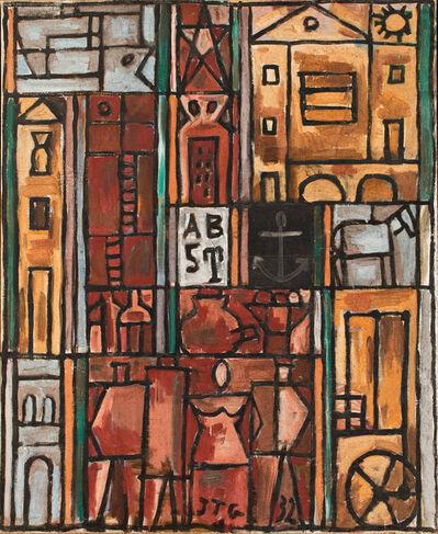 Joaquín Torres-García, 'Constructif avec quatre figures (Constructive with four figures)', 1932