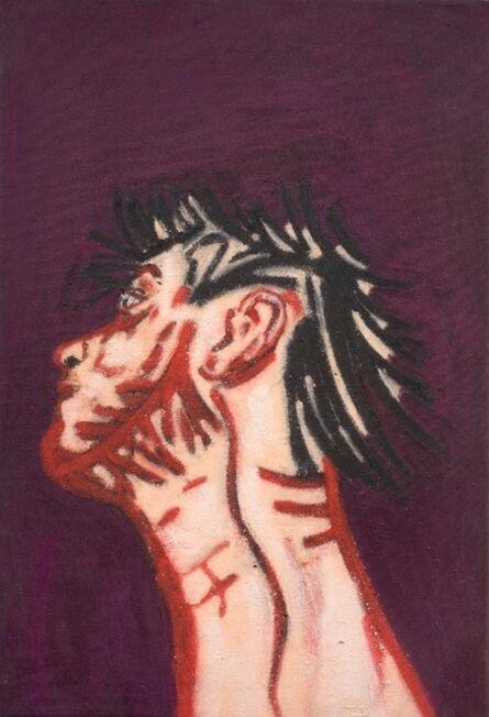 Tony Bevan, 'Self Portrait Neck', 1988