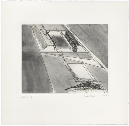 Michael Heizer, 'Vertical Cliff Displacement', 2013
