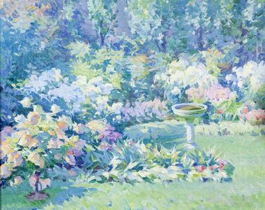 Mabel Woodward, 'Flower Garden', 1910
