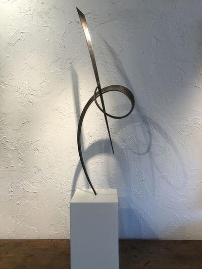 Marko Kratohvil, ''Iron Sculpture #2,' Steel Sculpture on Base by Marko Kratohvil', 2014