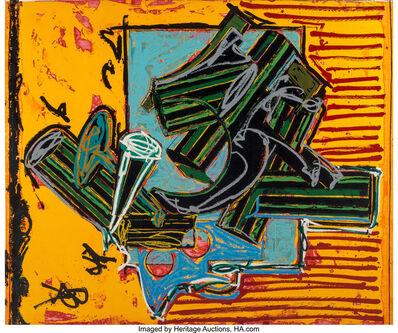 Frank Stella, 'La Penna di Hu, from Italian Folktales', 1988