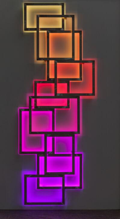 David Batchelor, 'Glowstick 5', 2016