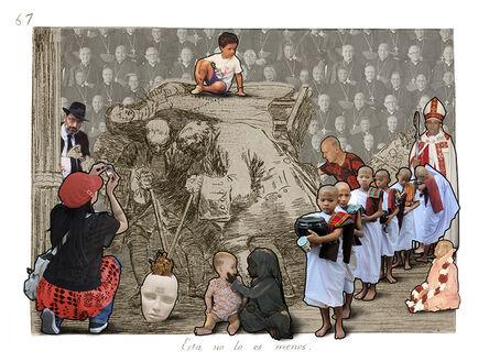 Lluis Barba, 'Esta no lo es menos. Goya', 2019