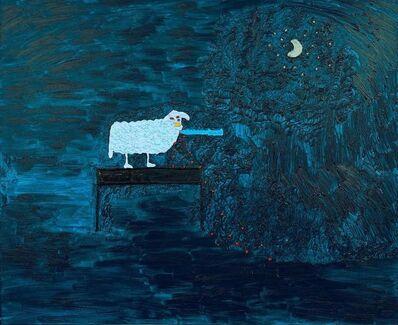 Ecaterina Vrana, 'Blue Sheep', 2016