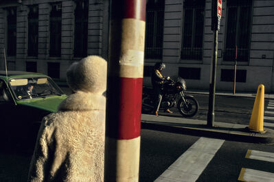 Harry Gruyaert, ' Rue Royale, Brussels', 1981