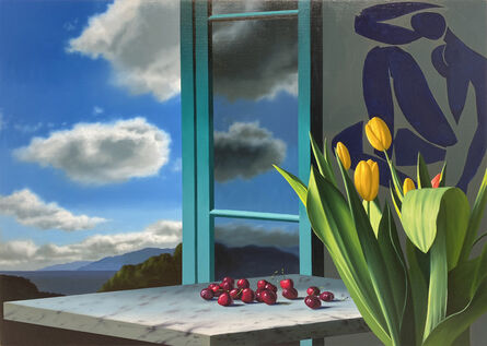 Bruce Cohen, 'Interior with Cherries and Matisse', 2021