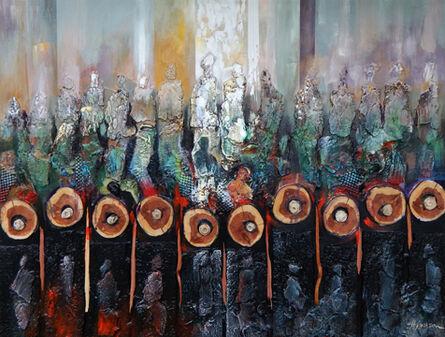 Hubert Jackson, 'Spirits of Cold Harbor (Spirits of the Journey Series)', 2015