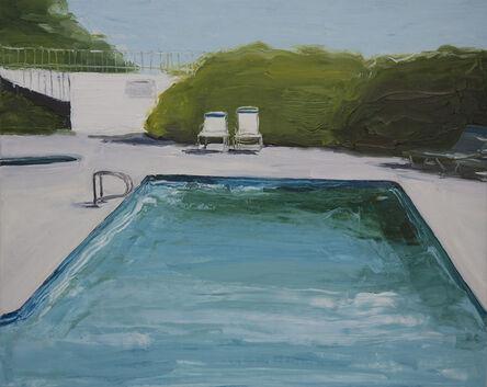Jennifer Beedon Snow, 'Poolside Chairs', 2016