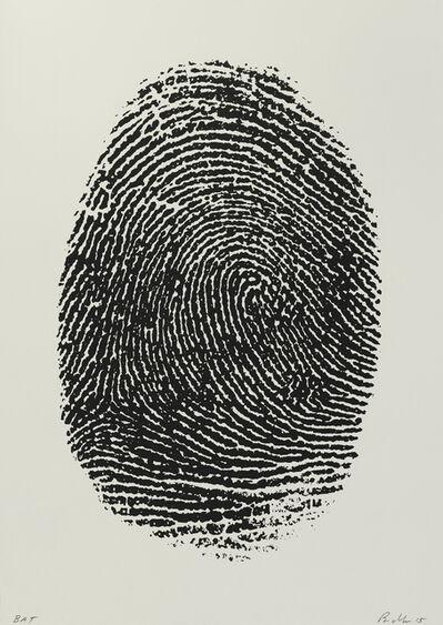Mike Bidlo, 'Not Manzoni (Impronte pollice destro, 1960)', 2015