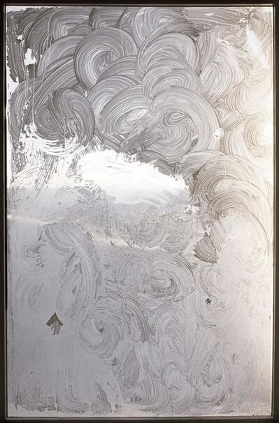 Anna Malagrida, ' S/T (Abstracta mancha blanca)', 2006
