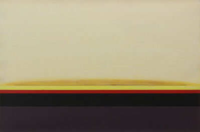 Lawrence Calcagno, 'Sunbands No. 1', 1968