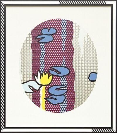 Roy Lichtenstein, 'Water Lilies - Blue Lily Pads', 1992