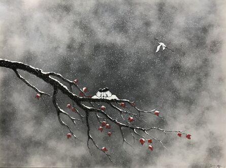 Sanzi, '雪芳华  Redolent of Snow', 2017