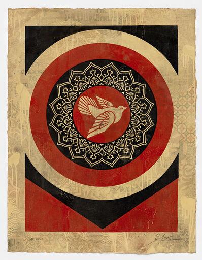 Shepard Fairey, 'Dove Target Red, HPM', 2012
