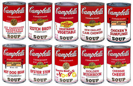 Andy Warhol, 'Campbell's Soup II, Complete Portfolio (FS II. 54-63)', 1969