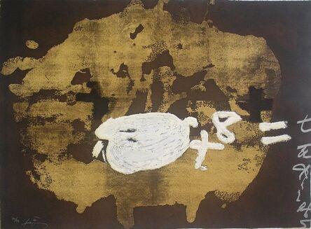 Antoni Tàpies, 'Objectes', 1987
