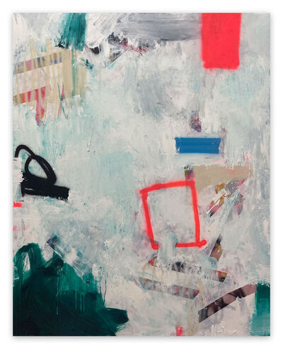 Tommaso Fattovich, 'Mount Kimbie (Abstract painting)', 2021