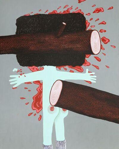 Tadija Janicic, 'The hulligans were naughty again', 2013