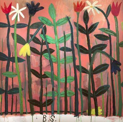 Ben Sledsens, 'Flowers in a pink sky', 2017
