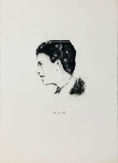 Bernardí Roig, 'Portrait M.S.-W. ( Margarethe Stonborough-Wittgenstein)', 2018