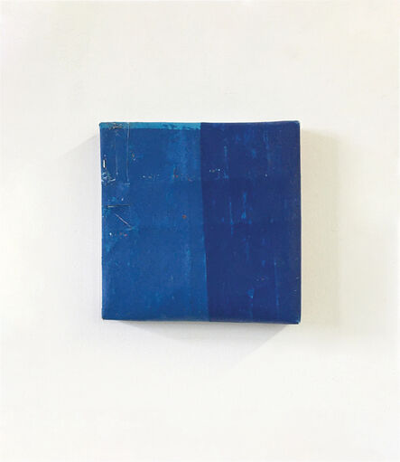 Steve Riedell, 'Untitled (Blue/Blue)', 2020