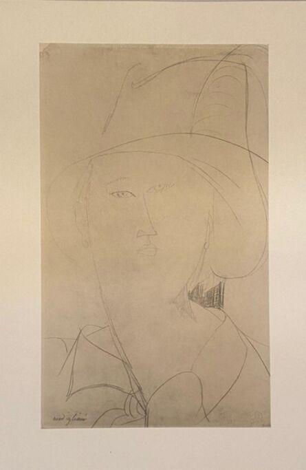 Amedeo Modigliani, 'Femme au chapeau', 1959